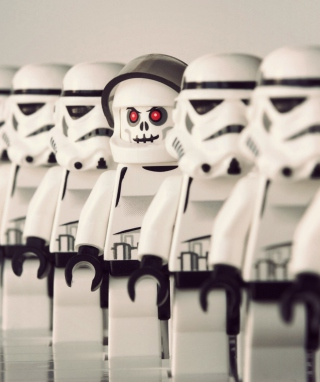 Free Star Wars Lego Picture for iPhone 5S