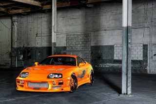 Toyota Supra Picture for Android, iPhone and iPad