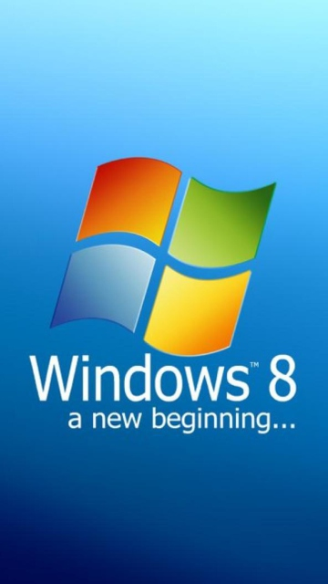 A New Beginning Windows 8