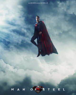 Superman, Man of Steel papel de parede para celular para 480x800