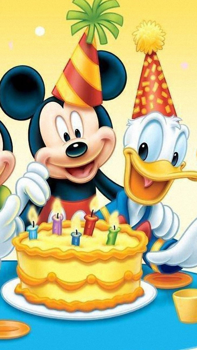 Screenshot №1 pro téma Mickey Mouse Birthday 640x1136