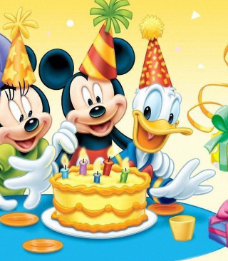 Free Mickey Mouse Birthday Picture for iPhone 6 Plus