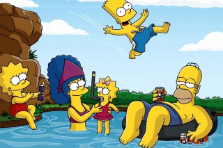 Free Los Simpson Picture for Android, iPhone and iPad