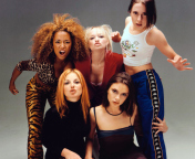Screenshot №1 pro téma Spice Girls Background 176x144