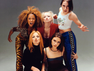Spice Girls Background - Obrázkek zdarma pro Samsung I9080 Galaxy Grand