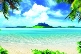 Summer Vacation Background for Android, iPhone and iPad