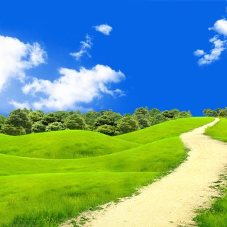 Green Hills In South America Wallpaper for 2048x2048