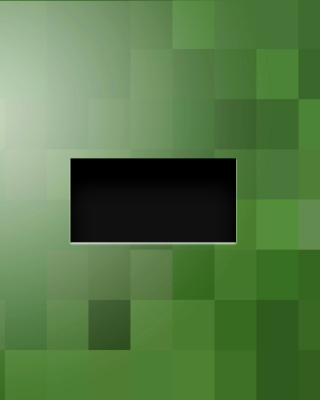 Free Minecraft Zombie Picture for 240x320