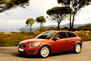 Volvo C30 Background for Android, iPhone and iPad