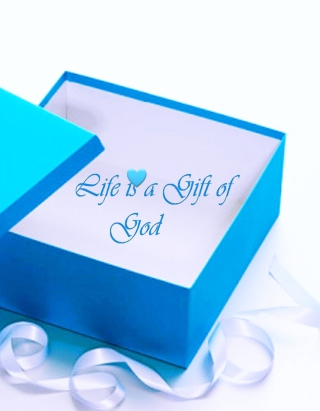 Life Is Gift Of God Background for Nokia C1-01