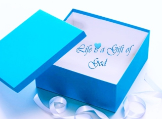 Life Is Gift Of God Background for Android, iPhone and iPad