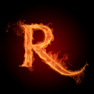 Free Fire Alphabet Letter R Picture for iPad mini