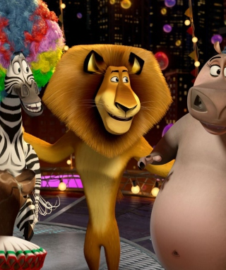 2012 Madagascar 3 Picture for 640x1136