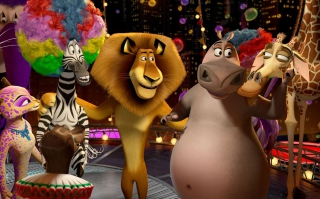 2012 Madagascar 3 Wallpaper for Android, iPhone and iPad