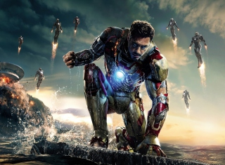 Iron Man 3 Background for Android, iPhone and iPad