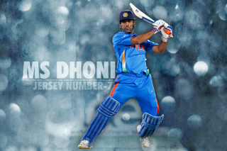 Mahendra Singh Dhoni Background for 1280x800
