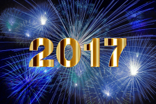 Kostenloses 2017 New Year Holiday fireworks Wallpaper für Android, iPhone und iPad