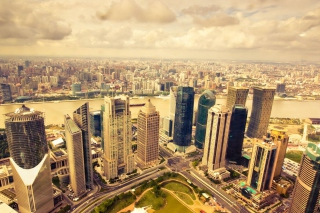 Cityscape Background for Android, iPhone and iPad