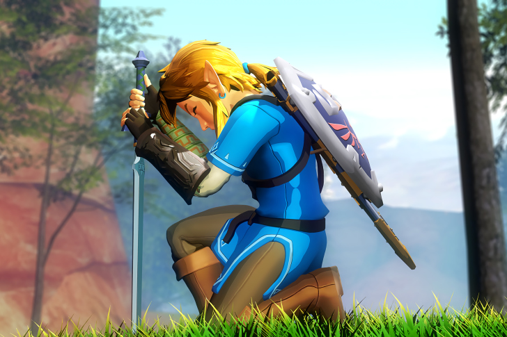 Screenshot №1 pro téma The Legend of Zelda