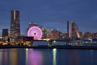 Japan, Yokohama Background for Android, iPhone and iPad