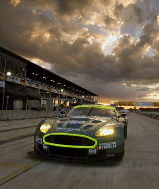 Aston Martin Dbr9 Wallpaper for iPhone 6 Plus