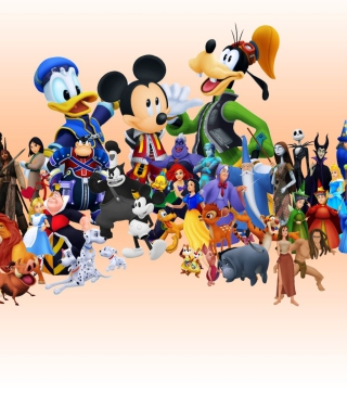 Disney Family Wallpaper for 176x220