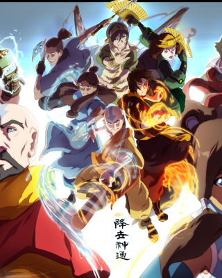 The legend of korra - Fondos de pantalla gratis para Nokia X2