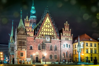 Free Wroclaw Town Hall Picture for Samsung Galaxy Nexus