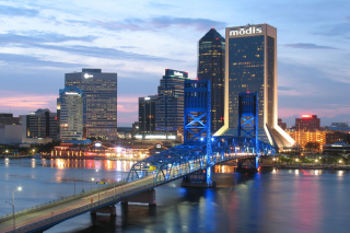 Jacksonville Evening sfondi gratuiti per cellulari Android, iPhone, iPad e desktop