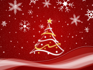 Christmas Tree wallpaper 320x240