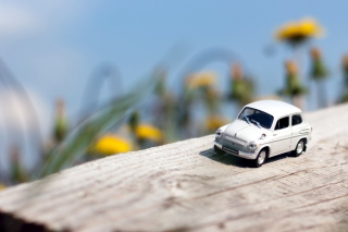 Free Mini Toy Car Picture for Android, iPhone and iPad