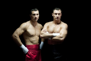 Klitschko brothers Wladimir and Vitali Background for Android, iPhone and iPad