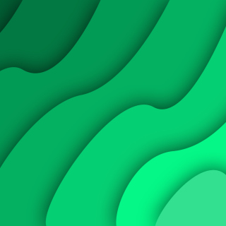 Green Waves Background for 128x128