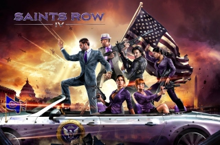 Saints Row 4 Wallpaper for Android, iPhone and iPad