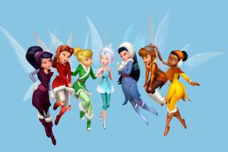 Kostenloses Tinkerbell and the Mysterious Winter Woods Wallpaper für Android, iPhone und iPad
