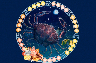 Cancer Zodiac Background for Samsung Galaxy Tab 4