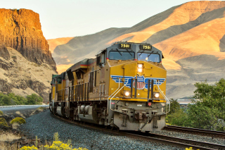 Union Pacific Train Background for Android, iPhone and iPad