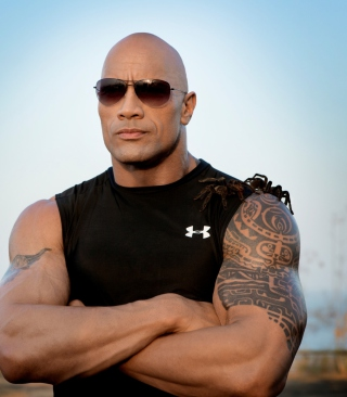 Free Dwayne Johnson Picture for 240x320