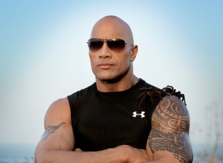 Dwayne Johnson Background for Android, iPhone and iPad