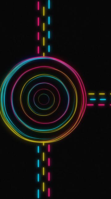 Hypnotic Neon Lights per Nokia N8