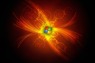 Windows Anniversary Background for Nokia Asha 205