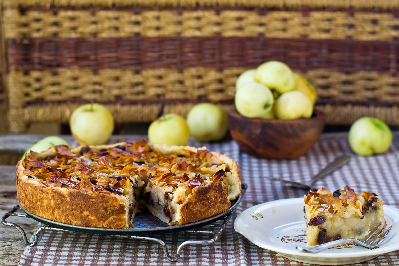 еда пирог яблочный шарлотка food pie Apple Charlotte без смс