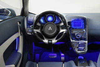 Mitsubishi Interior Tuning Background for Android, iPhone and iPad