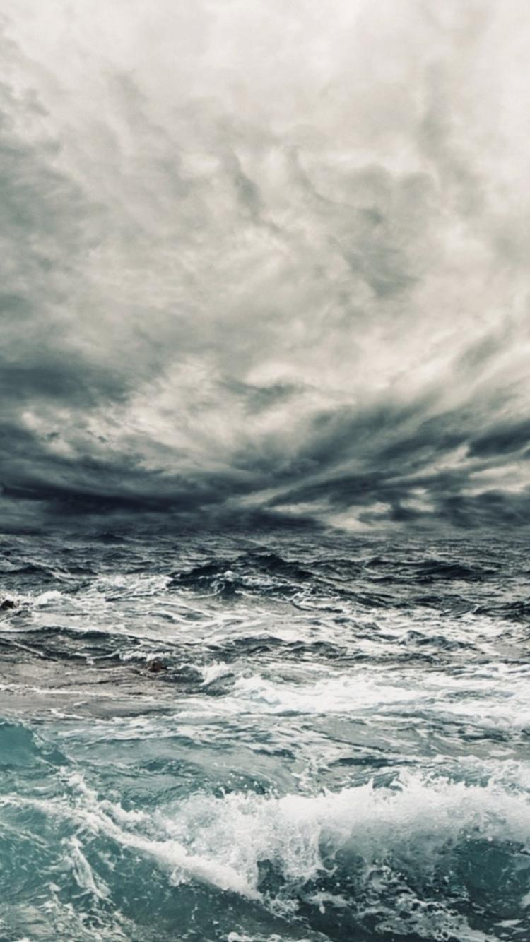 шторм на море картинки для мобильного телефона стала