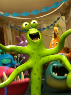 Screenshot №1 pro téma Monsters University 240x320