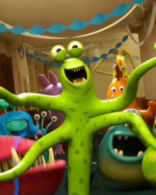 Monsters University sfondi gratuiti per Nokia C2-05