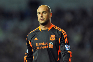 Pepe Reina - Liverpool Picture for Android, iPhone and iPad