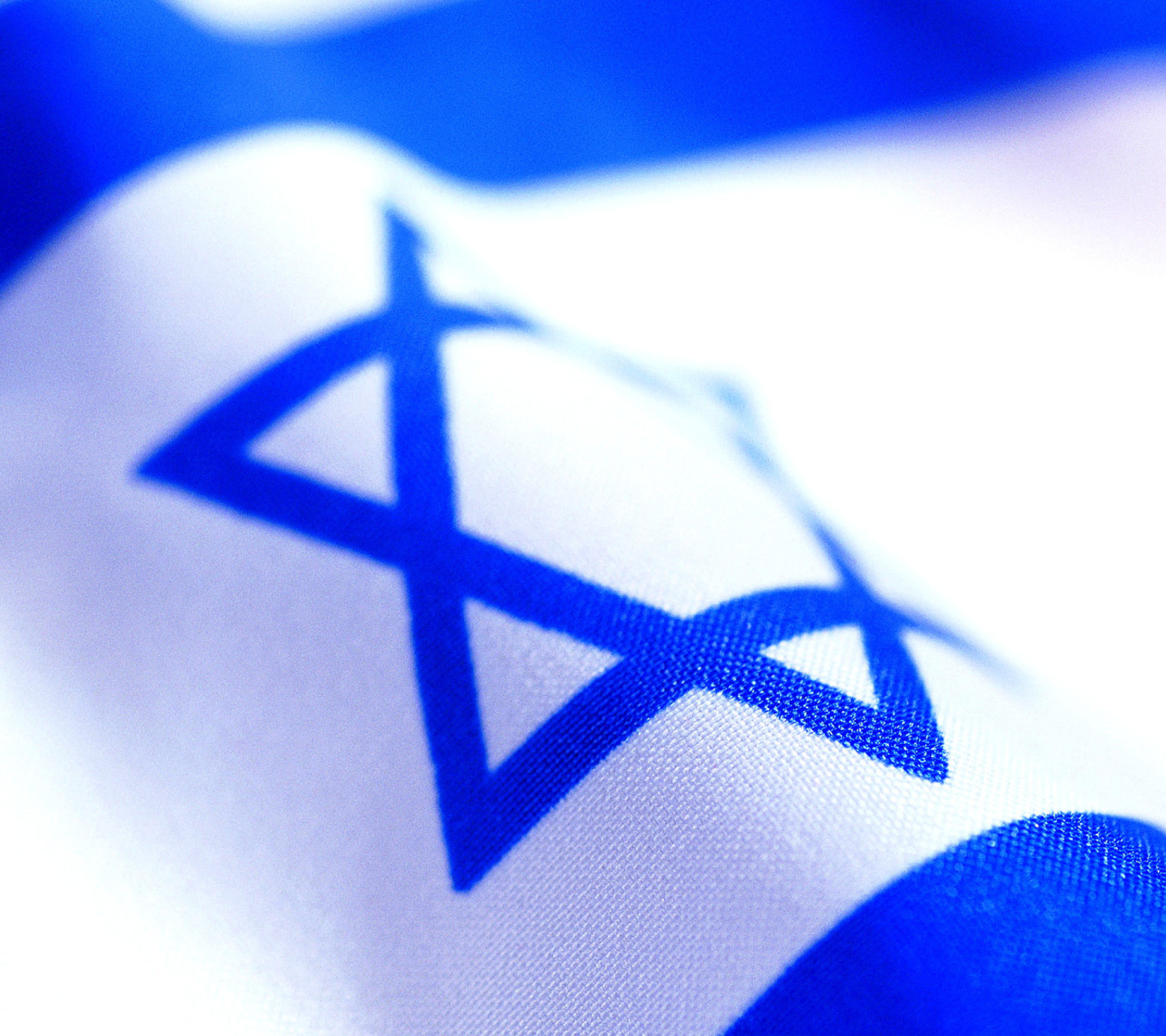 Das Israel Flag Wallpaper 1440x1280