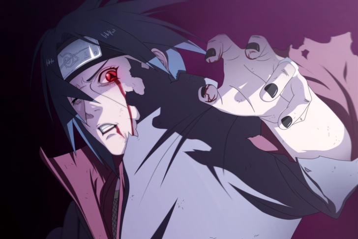 Screenshot №1 pro téma Naruto and Itachi