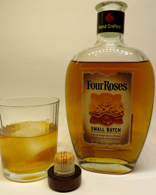 Four Roses Bourbon Background for Nokia C2-05